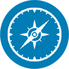 Compass_Icon_Blue_circle