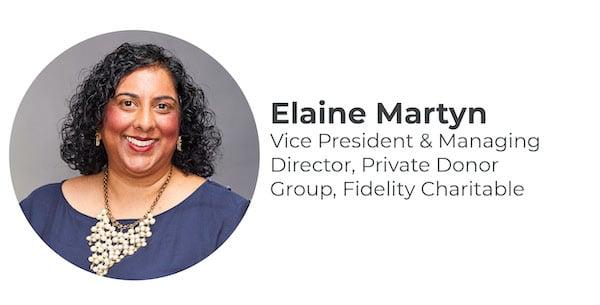 Elaine Martyn  Headshot & Title