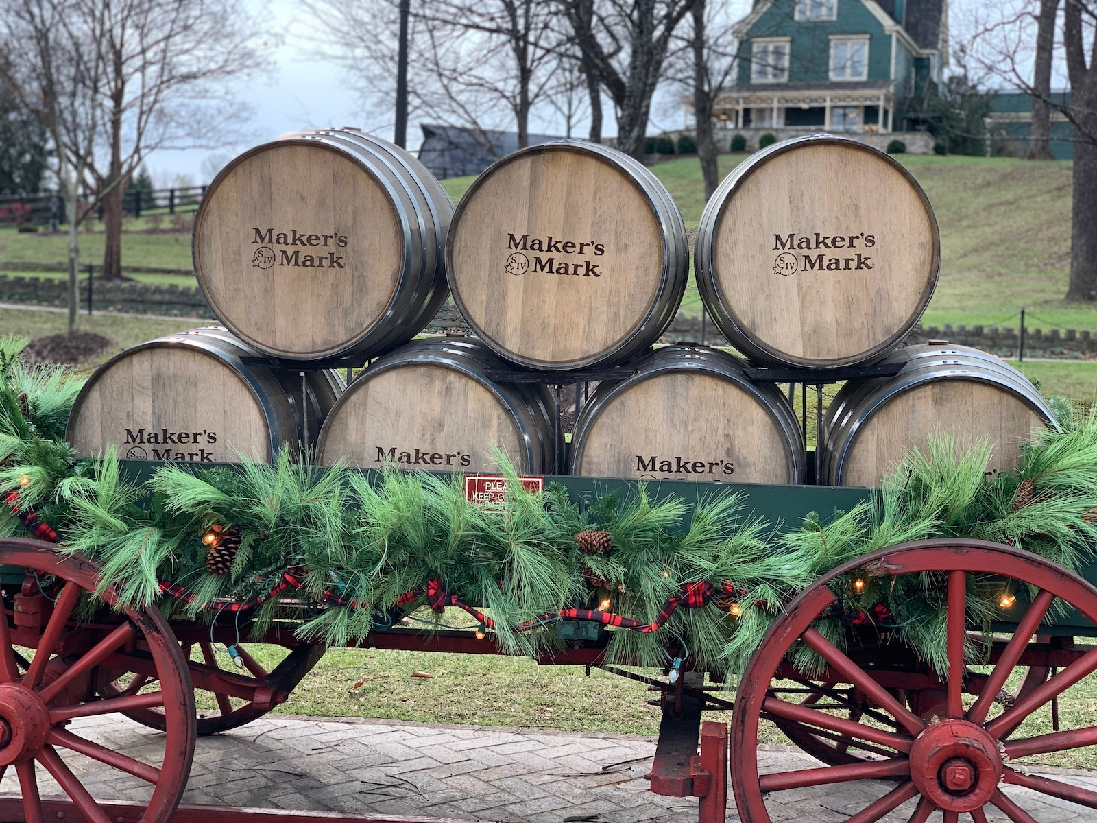 Maker's Mark Distillery in December