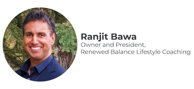 Ranjit Bawa Headshot & Title
