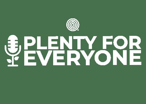 The Plenty Podcast Logo Final_white