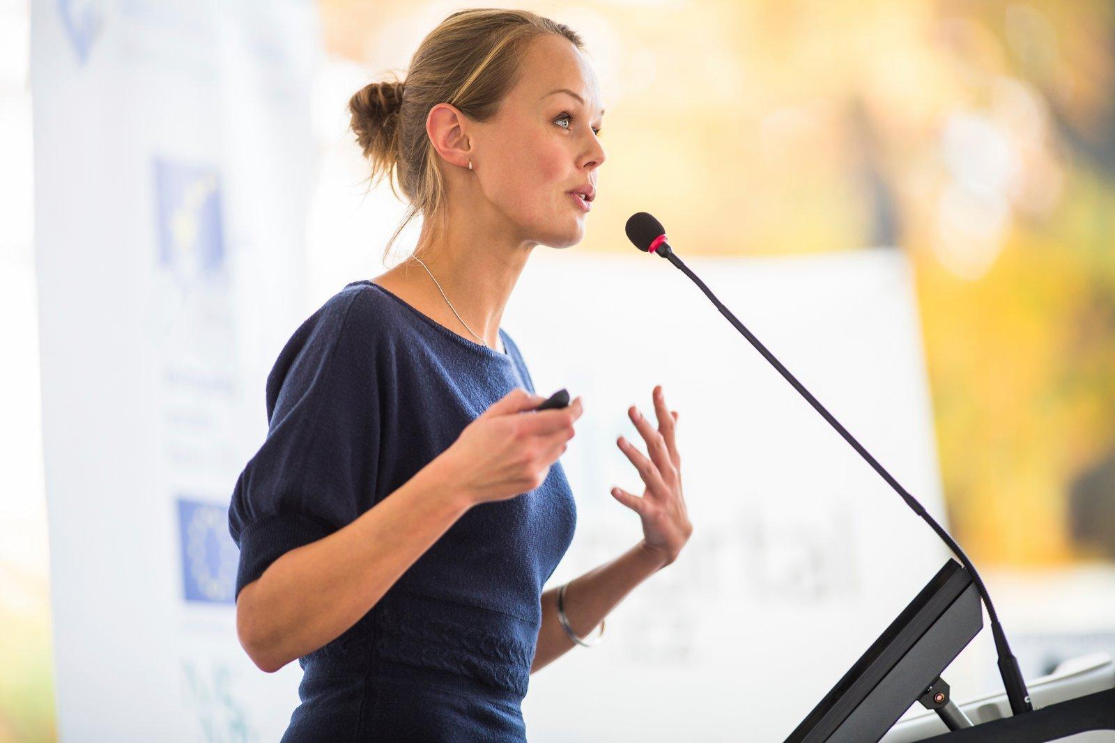 woman-speaking