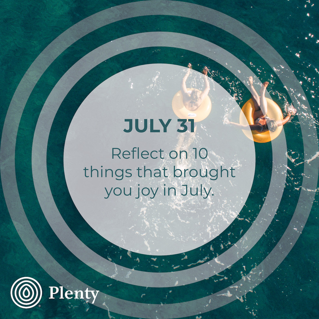 365 July TIPS 31