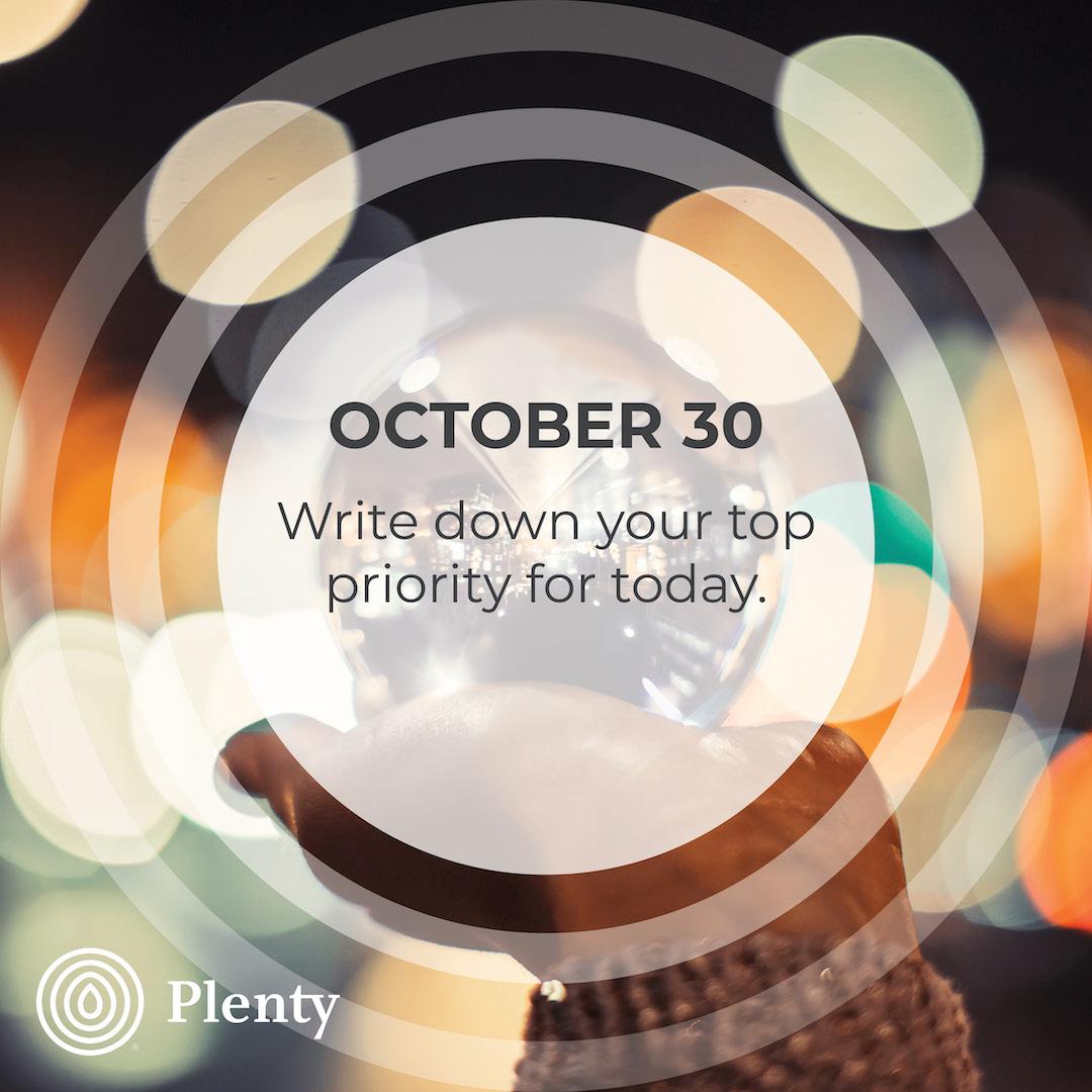 10. OCTOBER 365 TIPS30