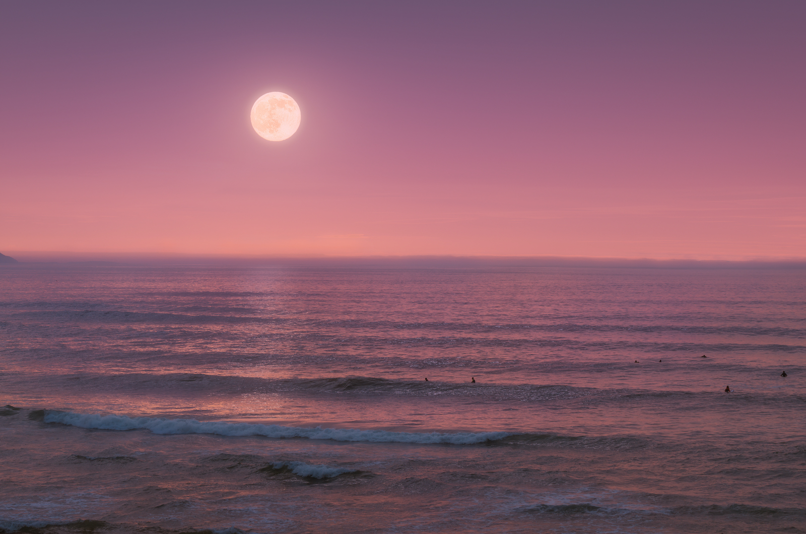 Channeling the Peace of the Pink Strawberry Moon