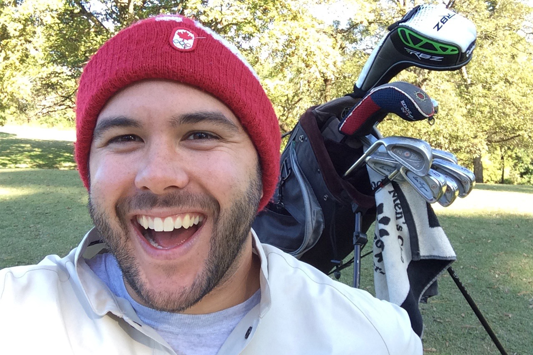 Bryan Golfing